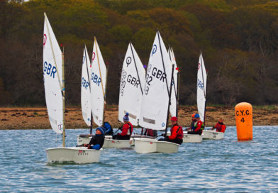 Optimist Open – Fun Racing in Tricky Conditions